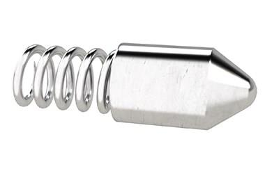Plain Pointed Spring Plunger Sleeves (Spring Sleeves) (WDS 572)