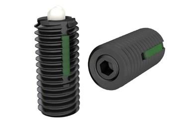 Light Force Spring Plunger with POM Thrust Pin and Long-Lok (WDS 606)