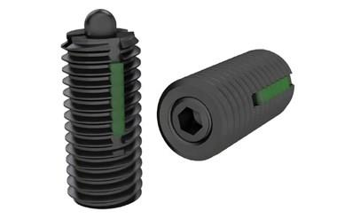 Medium Force Spring Plunger with Thrust Pin and Long-Lok (WDS 606)