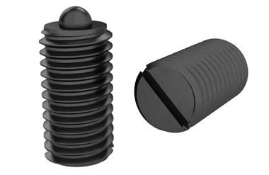 Medium Force Spring Plunger with Slotted Thrust Pin (WDS 606)