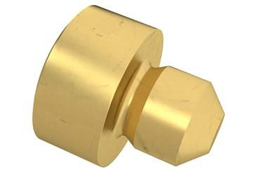 Clamp Button - Brass (WDS 642)