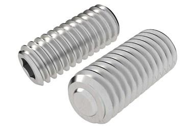 Clamping Screw Pad - Stainless Steel Plain Restricted Swivel Ball (WDS 652)