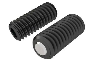 Clamping Screw Pad - Plain Restricted Swivel Ball (WDS 652)