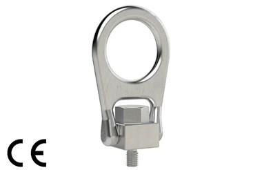 Forged Centre Pull Hoist Ring Stainless Steel - Bail Type (WDS 695)