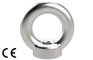 Eyenuts Similar To Din580 - Metric Coarse Thread 316 Stainless Steel (WDS 695)