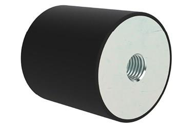 Female Cylindrical Rubber Stop (WDS 714)