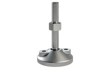 Levelling Feet - Stainless Steel Double Bolt Down Base - 304 Stainless Steel (WDS 778)