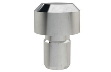 Feet Button - Stainless (WDS 811)