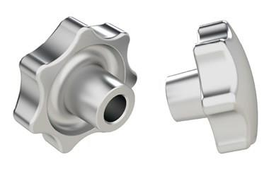 Hand Knob Reamed - Anodised (WDS 8172)