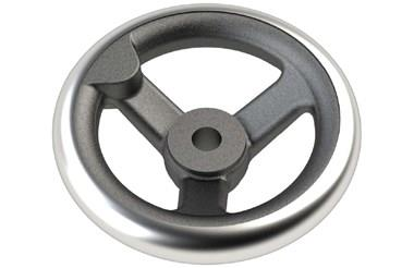 Cast Iron Hand Wheel - Round Hole (WDS 8193)