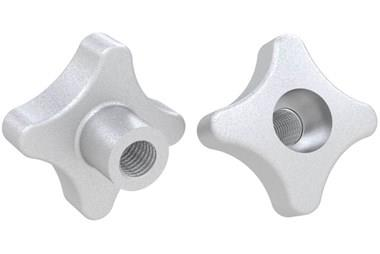 Hand Knob Threaded and Counter Bored - 316 Stainless Steel Matt (WDS 8205)