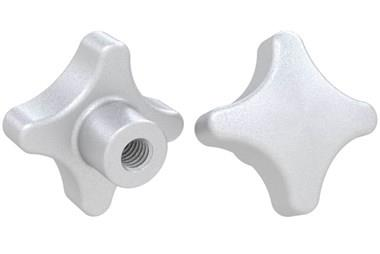 Hand Knob Threaded - 316 Stainless Steel Matt Finish (WDS 8205)
