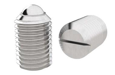 Ball Spring Plungers - Threaded - Stainless Steel - Imperial (WDS 823)