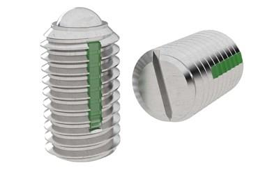 Ball Spring Plungers Long-Lok Thread - Stainless Steel (WDS 823)