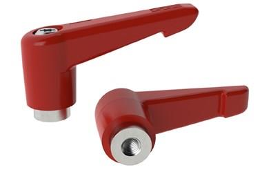 Clamping Handle Indexing with Stainless Insert - Traffic Red (WDS 8320)