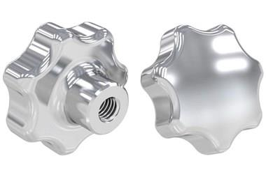 Hand Knob Threaded - Stainless Steel (WDS 8321)