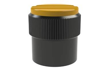 Graduated Knob without Scale Marks - Cadmium Yellow (WDS 8450)