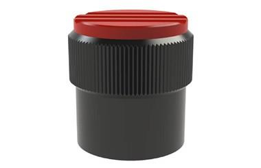 Graduated Knob without Scale Marks - Traffic Red (WDS 8450)