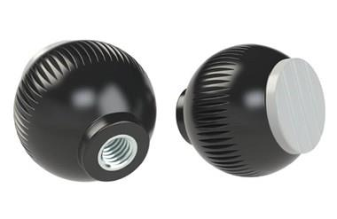 Grip Ball - Pale Grey - Thermoplastic With Steel Insert (WDS 8470)