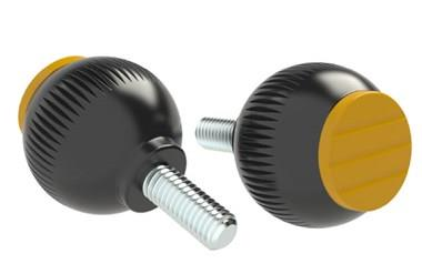 Grip Ball - Cadmium Yellow - Thermoplastic With Steel Screw (WDS 8470)