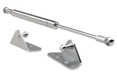 Stainless Steel Gas Struts (Gas Springs) with Internal Brackets (WDS 850)