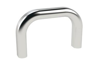 Bow Handle - Oval Profile - Silver (WDS 8506)