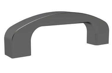 Black Anodised Aluminium Bridge Handle (WDS 8524)