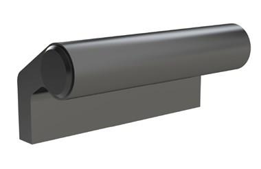 Black Anodised Aluminium Ledge Pull Handles (WDS 8525)