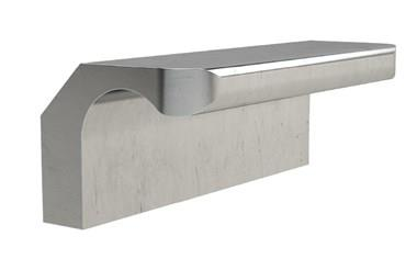 316 Stainless Steel Ledge Pull Handle (WDS 8528)