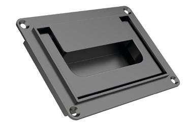 Collapsible Tray Handle with Snap Lock - Black (WDS 8539)