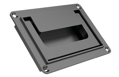 Collapsible Tray Handle with Pull Back Spring - Black (WDS 8539)