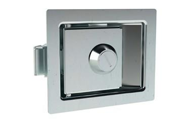 Paddle Latch with Lock - Steel Zinc Plated (WDS 8550)