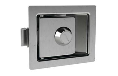 Paddle Latch with Lock - 304 Stainless Steel (WDS 8550)