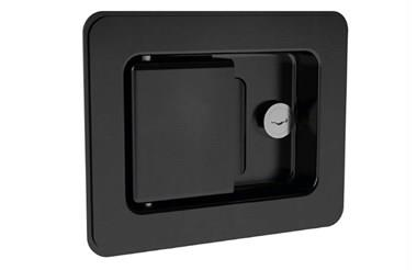 Paddle Latch - Steel Black Powder Coated (WDS 8554)