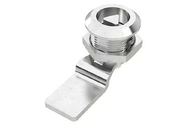 Quarter Turn Latch Kit - 304 Stainless Steel Cylinder and CAM Tri Type (WDS 8567)