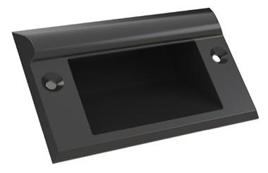 Recessed Tray Handle - Black (WDS 8588)