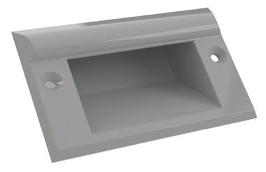 Recessed Tray Handle - Light Grey (WDS 8588)