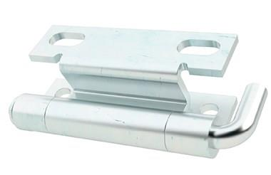 Zinc Plated Concealed Hinge with Pin & Fastener Mount (WDS 8678)