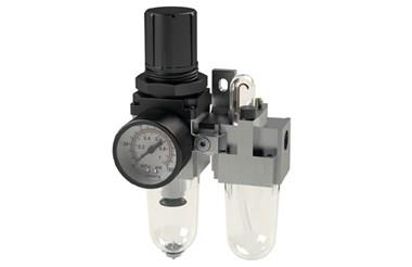 Compact Air Filter Regulator and Lubricator Unit (FRL) (SF-15000)
