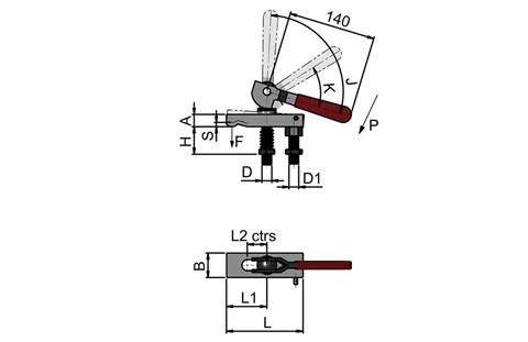 Cam Operated Clamp Assembly (WDS 356)