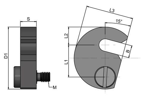 Captive C-Washers to DIN 6371 with Shoulder Screw (WDS 403)