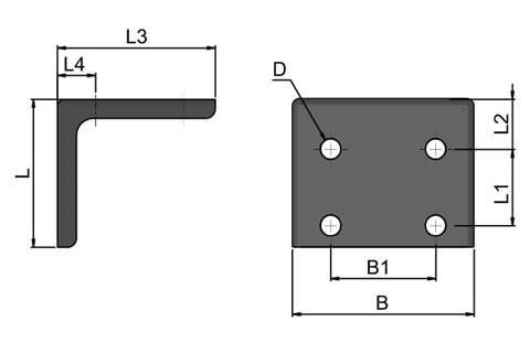 Mounting Bracket for Toggle Clamps (WDS 4059)