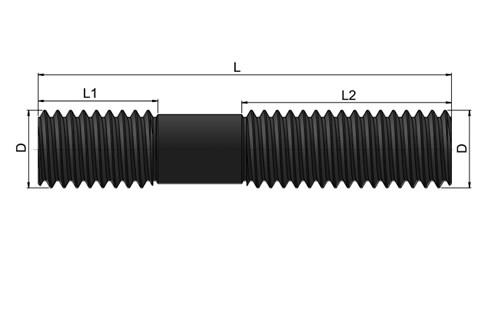 Rolled Studs - Steel (WDS 409)