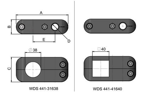 Cross Clamp for Conveyors (WDS 441)