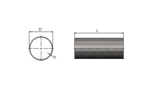 Conveyor Support Tube - 304 Stainless Steel (WDS 450)