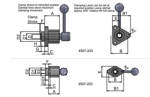 In-Line Front Flange Body (WDS 4507)