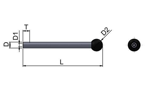 In-Line Clamping Rod (WDS 4509)