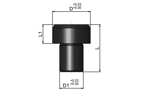 Location Pin - Metric Round Head (WDS 504)