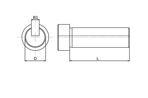 Keyway Broaching Guides - Hevicut Metric to suit H3M Broach Style (WDS 6133)