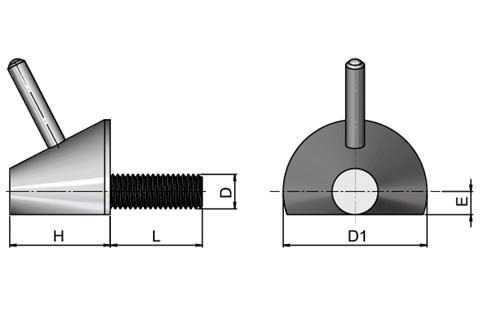 Latch Screw - Steel (WDS 616)